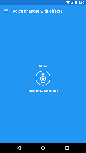 Voice changer with effects 3.7.2 screenshots 1
