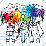 Download Gacha Coloring Book 1.0 APK For Android 2019