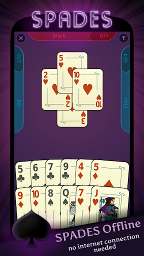 Spades – Offline Free Card Games 1.1.1 screenshots 1