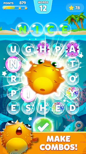 Bubble Words – Word Games Puzzle 1.3.8 screenshots 1