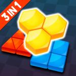Download Blockdom: Hexa, Square, Triangle Block Puzzle 1.0.1 APK For Android