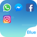Download Dual Space – Multi Accounts & Fresh Blue Theme 2.0.6 APK For Android