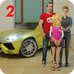 Download Family Dad Life:Virtual Dad Mom Family Simulator 2 1.0 APK For Android