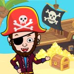 Download My Pirate Town – Sea Treasure Island Quest Games 1.0 APK For Android