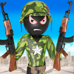 Download Stickman Zombie Shooting Strike: Gun Shooting Game 1 APK For Android