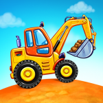 Download Truck games for kids – build a house, car wash 1.0.16 APK For Android 2019