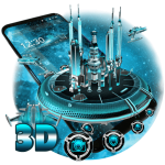 Download 3D Space Galaxy Theme 1.1.19 APK For Android
