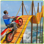 Download Bike Tricks Trail Stunt Master -Impossible Tracks 7 APK For Android