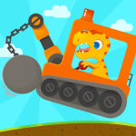 Download Dinosaur Digger 3 – Truck Simulator Games for kids 1.1.1 APK For Android