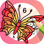 Download 🌈Fun Coloring🌈 Color By Number Pages Paint Happy 2.8.3 APK For Android