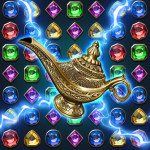 Download Jewels Magic Lamp : Match 3 Puzzle 1.0.8 APK For Android