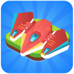 Download Merge Spaceship – Click and Idle Merge Game 1.5 APK For Android