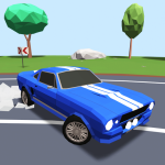 Download Polygon Drift: Endless Traffic Racing 0.23 APK For Android