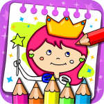 Download Princess Coloring Book & Games 1.33 APK For Android