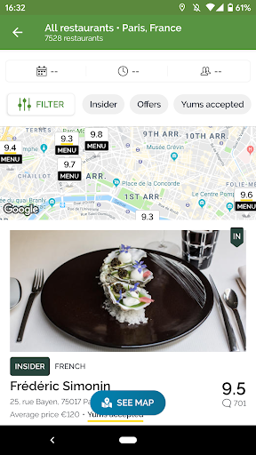 TheFork – Restaurants booking and special offers 15.0.1 screenshots 2