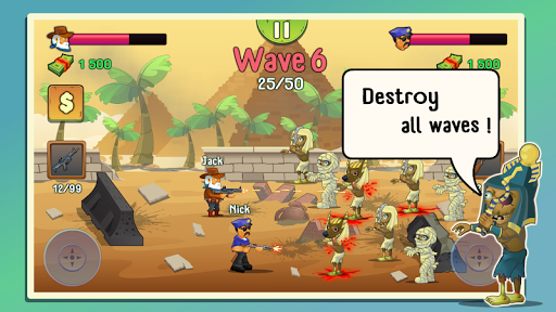 Download Two guys & Zombies (two-player game) 1.1.0 APK For Android