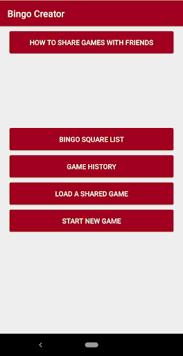 Bingo Creator 1.0.2 screenshots 1