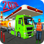 Download Big Oil Tanker Truck US Oil Tanker Driving Sim 1.1 APK For Android