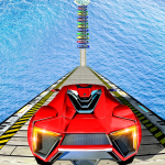 Download Mega Ramp Impossible Car Jump Over The Airplane 1.4 APK For Android