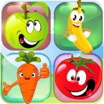 Download Memory game: 4 yr old kid games for girl free 🍓🍌 1.019 APK For Android