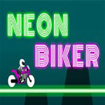 Download Neon Biker New bike stunt game free racing game 4 APK For Android