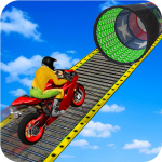 Download Racing Moto Bike Stunt -Impossible Track Bike Game 1.13 APK For Android