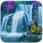 Download Waterfalls Tile Puzzle 1.12 APK For Android