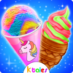 Download Yummy Ice Cream – Rainbow Unicorn Frozen Desserts 1.0 APK For Android