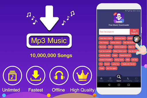 Free Music Downloader amp Mp3 Music Download 1.0.7 screenshots 1