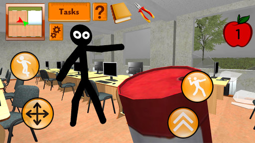 Stickman Teacher. Neighbor School Escape 3D 1.2 screenshots 1