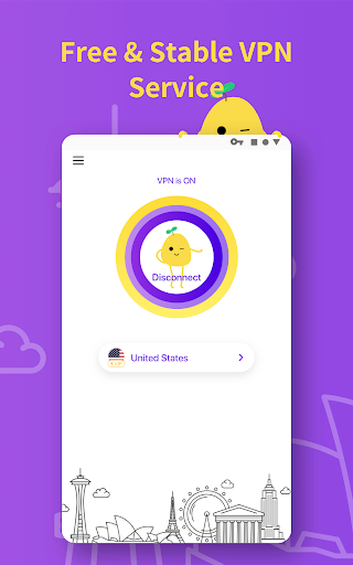 Download VPN PotatoVPN - Free VPN WiFi Proxy 10 APK For Android