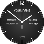 Download Analog Clock Santo Live Wallpaper 13.0 APK For Android
