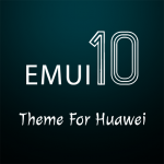 Download Dark Emui-10 Theme for Huawei 3.7 APK For Android