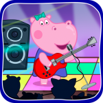 Download Kids music party: Hippo Super star 1.1.6 APK For Android