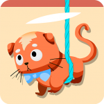 Download Rescue Kitten – Cat Collection – Rope Puzzle 2.1 APK For Android