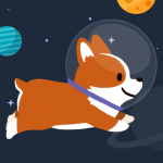 Download Space Corgi – Dog jumping space travel game 25 APK For Android