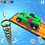 Download Superhero Buggy GT Mega Ramp Stunts Free 1.1 APK For Android