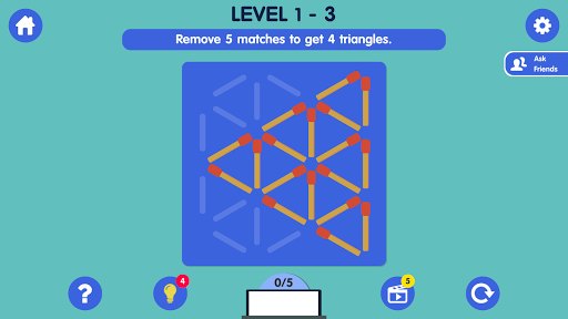 Download Matchstick Puzzle 2.3 APK For Android
