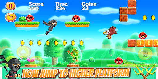 Download Ninja Jungle Adventure World 6.0 APK For Android