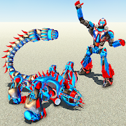 Scorpion Robot Transforming – Robot shooting games 1.1