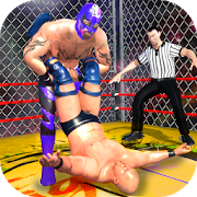 Wrestling Cage Championship : WRESTLING GAMES 4.0.3 and up