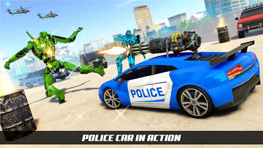 Police Horse Robot Transform Car Robot Games 1.0.2 screenshots 1