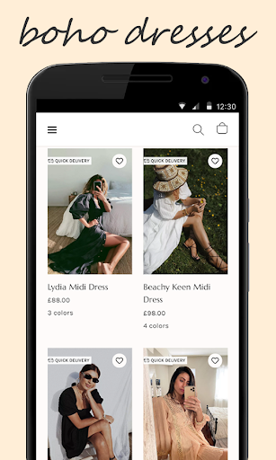 Shop for FreePeople 2.1 screenshots 1