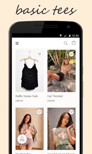 Shop for FreePeople 2.1 screenshots 2