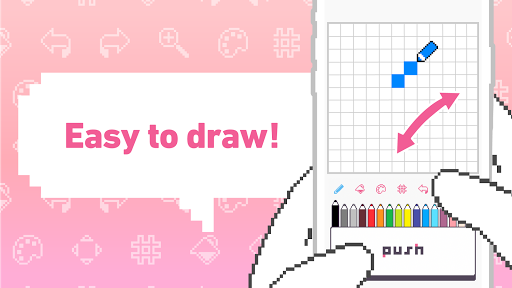 Download dotpict - Easy to Pixel Arts 6.1.1 APK For Android