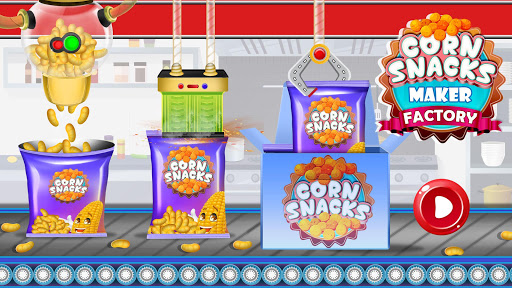 Download Corn Snacks Maker Factory: Food Cooking Game 1.0.3 APK For Android