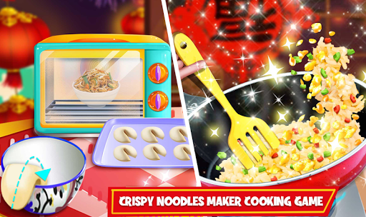Download Crispy Noodles Maker Cooking Game : Chowmein Food 1.0.9 APK For Android