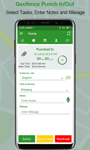 Download Employee Time Clock w/ GPS, Scheduling & Messaging 25.1 APK For Android