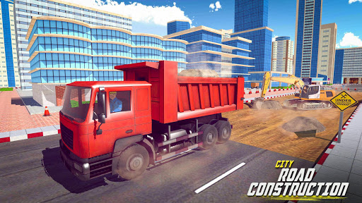 Download 👷Heavy Sand Excavator Road Construction Game 2.5 APK For Android