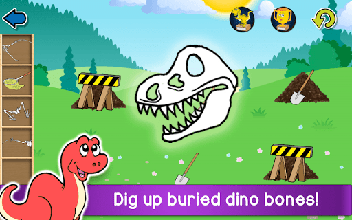 Download Kids Dino Adventure Game - Free Game for Children 25.5 APK For Android